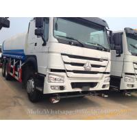 Buy cheap Curb Weight 6x4 20000 Liter  Water Tank Truck HOWO 30000kg Payload 11970kg from wholesalers