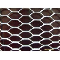 Buy cheap Heavy Duty Galvanized Expanded Metal Mesh , Steel Diamond Mesh 0.5mm-8mm Thickness from wholesalers