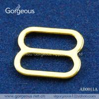 Buy cheap Gold metal bra strap adjuster from wholesalers