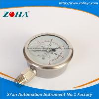 Buy cheap Pressure Gauge All Stainless Steel Double Scale Hot Selling to Korea from wholesalers