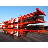 Buy cheap Tri-axle 40 Feet Shipping Container Trailer Chassis With Container Lock from wholesalers