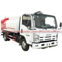 Buy cheap ISUZU Fuel Bowser Truck with Fuel Dispenser Hose reel and flow meter 6000Liters from wholesalers