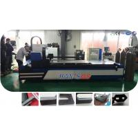 Buy cheap 1KW Metal Laser Cutter for 10mm Carbon Steel , Fiber Laser Cutting Machine from wholesalers