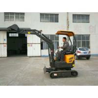 Buy cheap 0.8Tonne Mini Full Hydraulic Garden Small Space Used Crawler Excavator For Sale from wholesalers