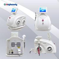 Buy cheap Handpiece Permanent Diode Laser Hair Removal Machine 808nm 600w In Pure White from wholesalers