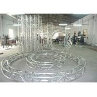Buy cheap Movable Circular Aluminum Stage Lighting Spigot Truss for Exhibition from wholesalers