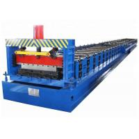 Buy cheap Building Material Metal Floor Deck Roll Forming Machine with 2 Years Warranty from wholesalers
