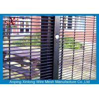 Buy cheap Professional Dark Green Green Security Fencing Panels For Public Grounds from wholesalers
