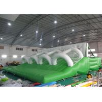 Buy cheap 0.55mm PVC Tarpaulin Inflatable Obstacle Course , Gaint inflatable games from wholesalers