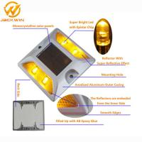 Buy cheap Highway Driveway Brightness Aluminum Plate Solar Powered Road Studs Reflective / Cats Eyes Road Markings from wholesalers