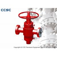 China PFF High Pressure Gate Valve API 6A Forging Processing Type Corrosion Resistant on sale