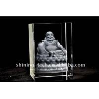 Buy cheap 3D Laser Engraved Crystal Craft from wholesalers