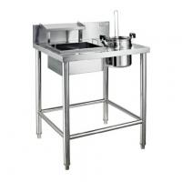 Buy cheap Kindelt commercial flour work table made of 304 stainless steel with legs from wholesalers