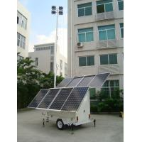 Buy cheap Solar LED mobile light tower from wholesalers