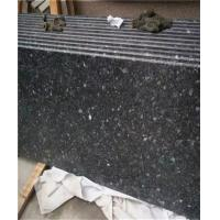 Buy cheap Black Galaxy Granite Tile Waterfall Scenery Exterior Wall Hanging product