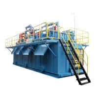 Buy cheap High Strength Drilling Mud System 0.45KW x 2pcs With Corrugated Sheet Structure product