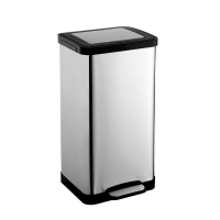 Buy cheap Rose gold Rubbish Pedal Sanitary Bin For Car 4S Shop from wholesalers