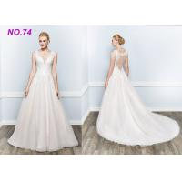 Buy cheap Amazing Perfect Vintage Princess Bride Wedding Dress For Larger Ladies Floor Length from wholesalers
