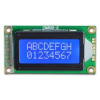 Buy cheap 8x2 character LCM with STN blue white led backlight ,COB style from wholesalers