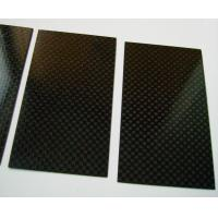 Buy cheap High Performance Tolerance ±0.1 Carbon Fiber Plate laminated sheet of 3k / Twill from wholesalers