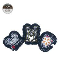 Buy cheap Personalized Custom Embroidered Back Patches / Colorful Custom Cloth Patches from wholesalers