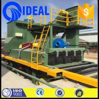 Buy cheap Metal or coil material and descaling or stripping use shot blast machine from wholesalers