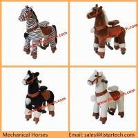 Buy cheap Cute Little Mechanical Ride on Horse Ride on Pony, Riding Toys Walking Toy on Horse from wholesalers