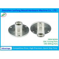 Buy cheap High Precision CNC Machine Parts , CNC Motorcycle Parts zinc / nickel plating Surface Treatment from wholesalers