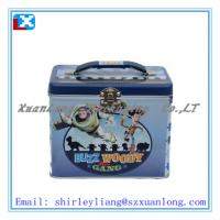 Buy cheap Metal Lunch Tin Box with Plastic handle from wholesalers