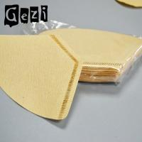Buy cheap 300mm Round Small Coffee Filters Wood Pulp ISO 9000 Custom Size from wholesalers