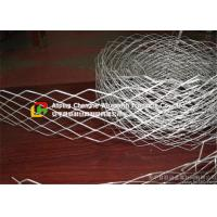 Buy cheap 2440 X 1220 Wire Mesh Ceiling Panels , Expandable Metal Mesh Impact Proof product