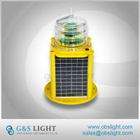 Buy cheap Built-in Photocell Aircraft Warning Light Medium Intensity Solar Aviation Obstruction Light For Towers from wholesalers