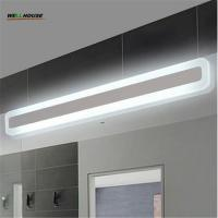 Buy cheap Modern bathroom / toilet LED front mirror lights for bathroom Acrylic mirror lights fashionable design Dressing table la from wholesalers
