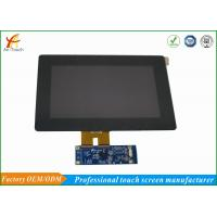 Buy cheap Scratch Resistant LCD CTP Touch Screen Overlay Kit 800x480 Landscape from wholesalers