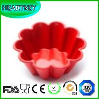 Buy cheap Flower Shape Flexible Silicone Oven Cake Baking Moulds DIY Bread Loaf Toast Mold from wholesalers