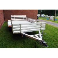 Buy cheap Hot Rolled Steel 6x4 Aluminum Box Trailer , Small Aluminum Utility Trailer from wholesalers