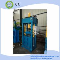 Buy cheap Factory Direct Sale Used clothing Baling machine/used clothes and textile compress baler machine from wholesalers