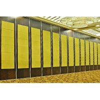 Buy cheap Fabric Surface Sliding Operable Movable Partition Walls For Hotel Banquet Hall from wholesalers