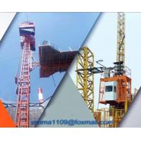 Buy cheap SC50 Special Construction Elevator For Tower Cranes with 1m Cage size from wholesalers