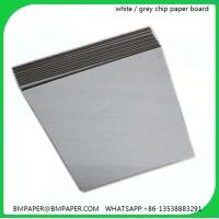 Buy cheap Alibaba trade assurance grey chip board 1.5mm thick paper from wholesalers