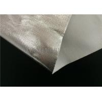 Buy cheap SGS Certificated Aluminum Foil Coated Fiberglass Fabric Single Side Coating from wholesalers
