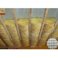 Buy cheap Lightweight Polypropylene Insulation Support Netting Black Color Fireproof from wholesalers