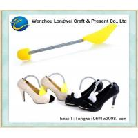 Buy cheap Custom Yellow Adjustable Ladies Plastic Shoe Stretcher For High Heel from wholesalers