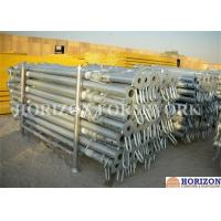 Buy cheap High Loading Capacity Scaffolding Steel Prop Q235 Steel Pipe Zinc Plated Surface from wholesalers