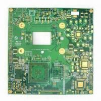Buy cheap Double-sided PCB with 610 x 1,100mm Maximum Size and 0.2 to 6.00mm Board Thickness Coverage from wholesalers