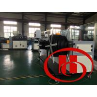 Buy cheap Steel Wire Inner Corrugated Pipe Machine Single Layer With 22kw Power from wholesalers