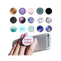 Buy cheap Popsocket Grip Mobile Phone Holder TPU Material With Strong Air Pop Function product