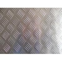 Buy cheap Embossed 6mm Aluminium Sheet , Pattern Aluminium Tread Plate For Bus Floor from wholesalers