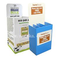 Buy cheap New Cardboard dump bin ready display stand for new food promotion from wholesalers