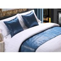 Buy cheap Shining Imitated Silk Bed Runner Luxury Decorative For Hotel from wholesalers